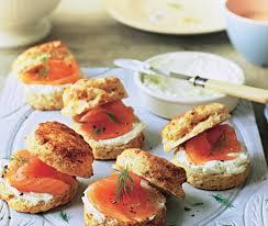 scones salmon